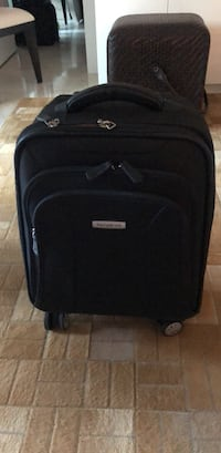 black and gray softside luggage Miami, 33133