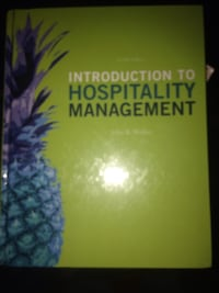 Introduction to hospitality management textbook East Orange