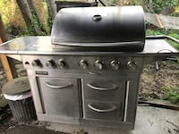 Kirkland Stainless BBQ Grill with Side & Sear Burners + a Rotisserie Seattle, 98106