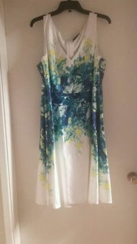 Gorgeous Party Dress by Addition Elle  size 18  White Rock