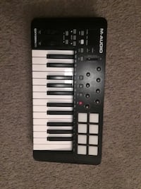 M-Audio| Black And White Electronic Keyboard Indian Head, 20640