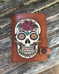 Day of the Dead Sugar Skull notebook cover 836 mi