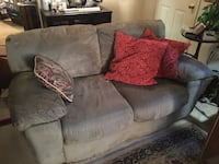Plush Love Seat with Down (Feather Filled) Throw pillows Durham, 27703