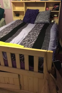 Bed and matching desk