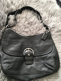 black leather Coach hobo bag Calgary, T2H