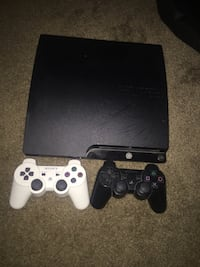 Sony PS3 slim console with two controllers Hemet, 92543