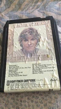 8 track tape ... Ann murray ... A country collection