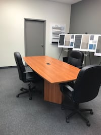 Boardroom table and chairs Mississauga, L5L