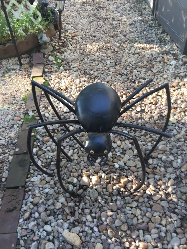 Black metal  Halloween spider