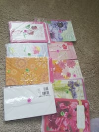 $O.50 for package of 6 cards. All different.  Ocean Springs, 39564