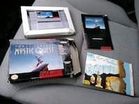Final fantasy mystic quest SNES CIB with map Parkville