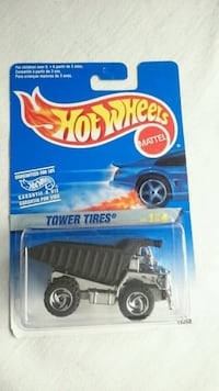 HOT WHEELS DUMP TRUCK TOWER TIRES 1996 SILVER SERI Ontario, L4L 1V3