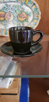 Set of Espresso cups with saucers