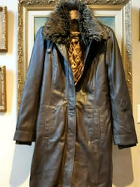 Danier long so soft leather coat size S