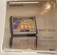 Garmin Nuvi 260w GPS  [PHONE NUMBER HIDDEN] b, factory sealed Long Beach