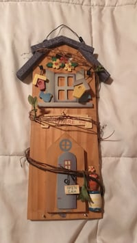 brown wooden house themed wall decor Danielsville, 30633
