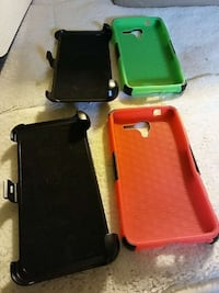 four assorted smartphone cases Spout Spring, 24593