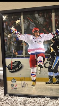 Alex Ovechkin Signed Framed Picture  Edmonton, T6W 2B7