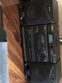 Sony radio  tape, and CD player   all in working condition.  Very nice sound  Oakville, L6H 3J5