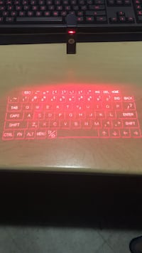 Laser-Projected Portable Keyboard LaSalle, N9H 1C8