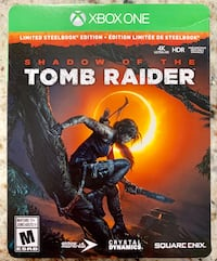 Shadow of the Tomb Raider Limited Steelbook Edition - Xbox One  King, L7B 1L3