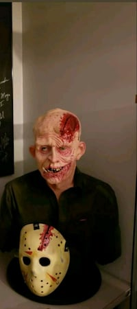 Life size Jason voorhees bust
