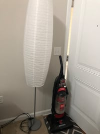 red and black upright vacuum cleaner Clarksburg