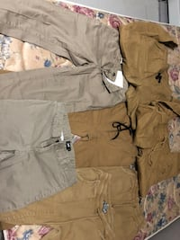 gray and brown camouflage cargo shorts New York, 10472