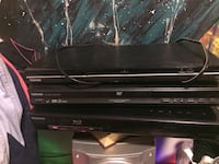 black Sony DVD player with remote Winnipeg, R3T 2J9