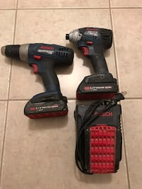 Bosch drill and impact