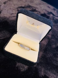 KAY jewelers 1/2 carat diamond band Woodbridge, 22193
