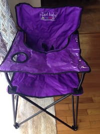 Brand new! Baby purple and black camping chair 31 km