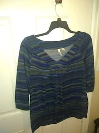 black and blue stripe sweater Grand Junction, 81504