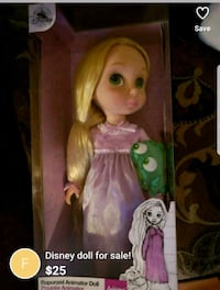 Barbie doll in pink dress in box Châteauguay