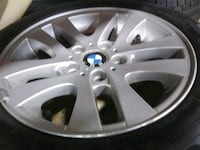 4 Bmw rims and tires 16 inch Mississauga, L4W 2P5