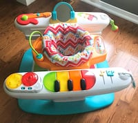 Fisher Price 4 in 1 step and play piano toy Hamilton, L0R 1P0