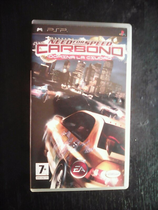PSP Need for Speed Carbono