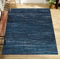 Modern navy area rug  Chicago, 60605