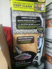 Shark sonic carpet and floor mop. New