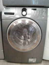 gray Samsung front-load washer null