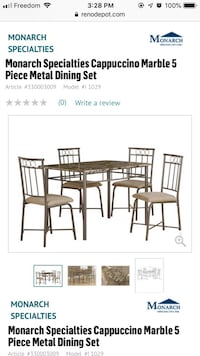Brand new still in box  Dining table and chairs  Niagara Falls, L2H 1Z9