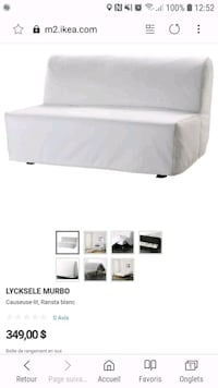 white and gray bed mattress screenshot Laval, H7M