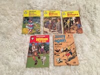 Five vintage British children's paperbacks Toronto, M2M 2A3