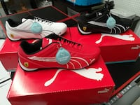 Officially Licensed Ferrari Leather Shoes by Puma Roswell
