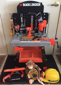 Black & Decker Kids Workbench with Battery Operated Tools and Loaded with Accessories! Carmichael, 95608
