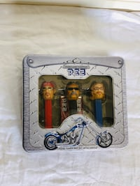 PEZ ORANGE COUNTY CHOPPERS NIB 2006 LIMITED EDITION COLLECTOR'S TIN