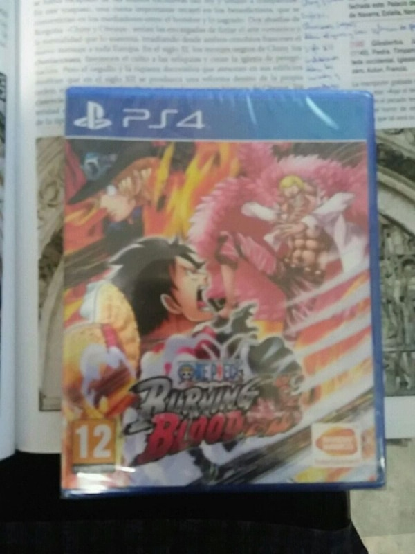 Juego PS4 one piece burning blood