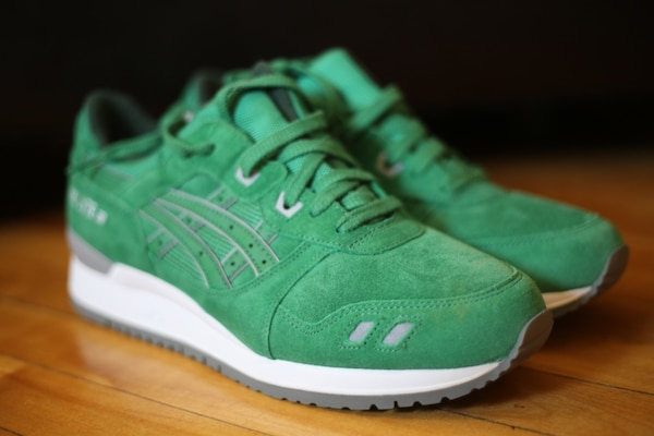 the best attitude f4e17 4c320 Asics Gel Lyte III Green Suede Size 9.5