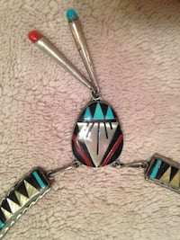 Native American Indian necklace Fairfax, 22033