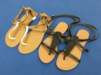 Old navy sandals two pairs for 100aed Dubai